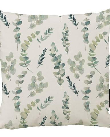 Vankúš Butter Kings z bavlny Eucalyptus Branches, 45 x 45 cm