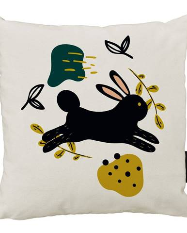 Vankúš Butter Kings z bavlny Jumping Rabbit, 45 x 45 cm