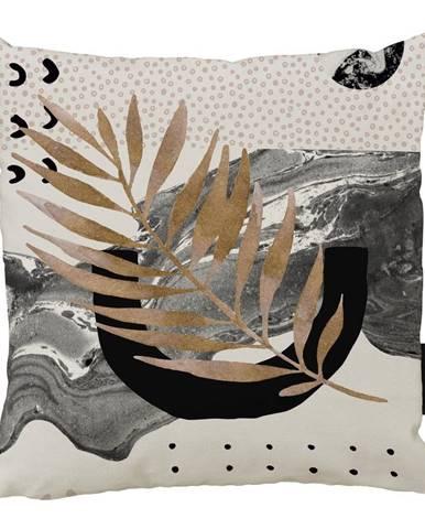 Vankúš Butter Kings z bavlny Marbling Flow, 45 x 45 cm