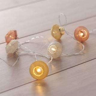 LED svetelná reťaz DecoKing Morocco, 10 svetielok, dĺžka 1,65 m