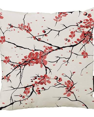 Vankúš Butter Kings z bavlny Sakura, 45 x 45 cm