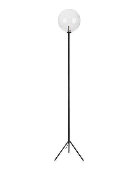 Markslöjd Čierna voľne stojacia lampa Markslöjd Andrew Floor Black