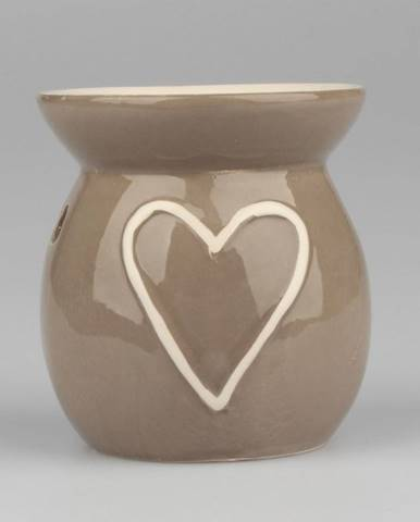 Keramická aromalampa Dakls Heart, výška 10 cm