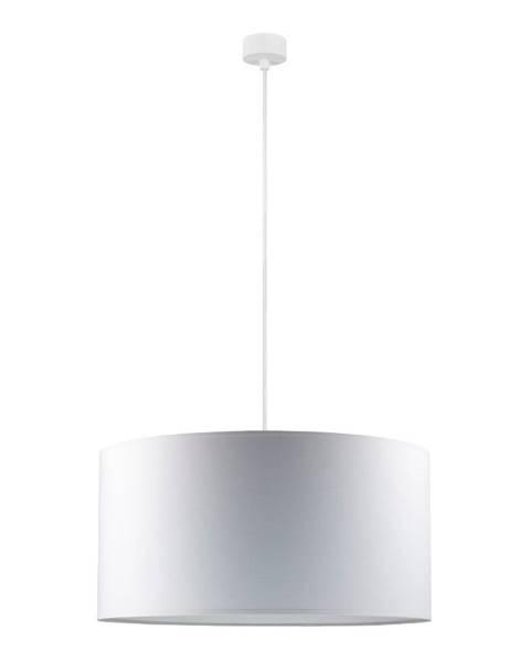Sotto Luce Biele závesné svietidlo Sotto Luce Mika, ∅ 50 cm