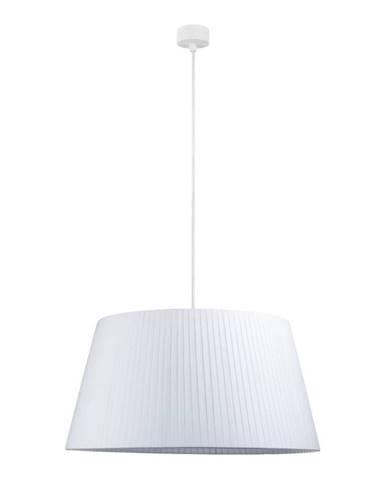 Biele stropné svietidlo s bielym Sotto Luce Kami, ∅ 54 cm