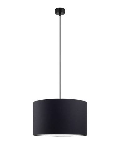 Čierne závesné svietidlo Sotto Luce Mika, ∅ 36 cm