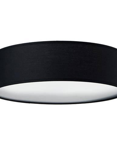 Čierne stropné svietidlo Sotto Luce MIKA, Ø 40 cm