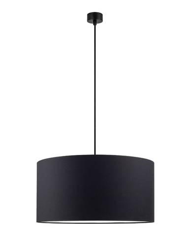 Čierne stropné svietidlo Sotto Luce Mika, ⌀50 cm