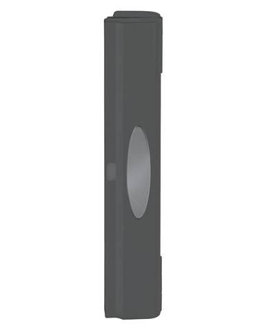 Čierny plastový kryt na potravinovú fóliu s orezávačom Wenko Perfect Cutter