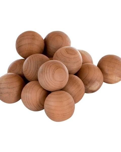 Premier Housewares Sada 15 drevených vonných guličiek Premier Housewares Cedar Balls