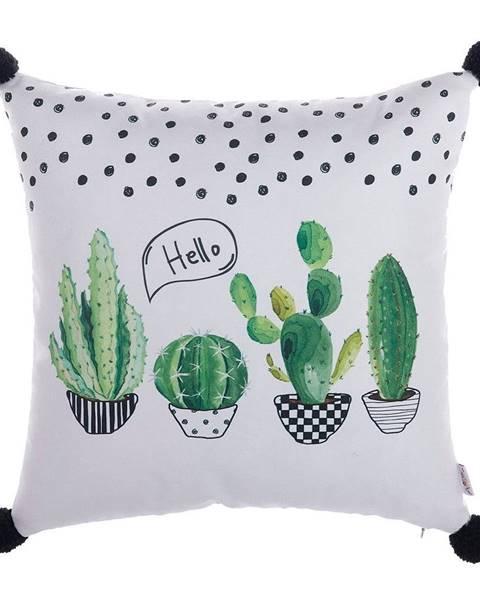 Apolena Obliečka na vankúš Mike&Co.NEWYORK Hello Cactus, 43 × 43 cm