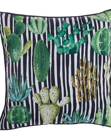Obliečka na vankúš Mike&Co.NEWYORK Exotic Cactus, 43 × 43 cm