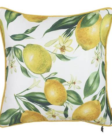 Obliečka na vankúš Mike & Co. NEW YORK Lemon Pattern, 43 × 43 cm