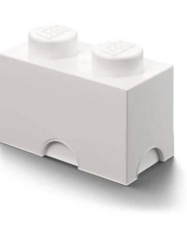 Biely úložný dvojbox LEGO®