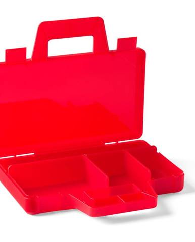 Červený úložný box LEGO® To Go