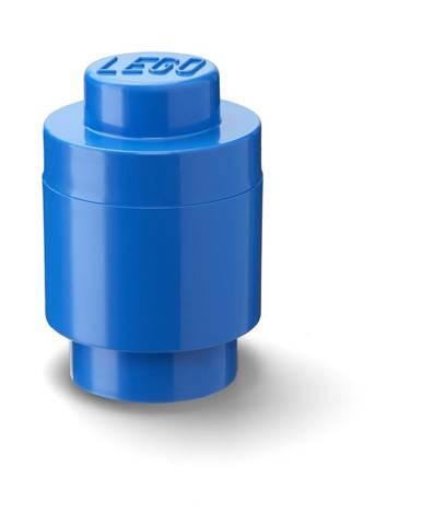 Modrý úložný okrúhly box LEGO®