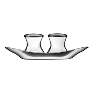 Soľnička a korenička z antikoro ocele WMF Cromargan® Wagenfeld