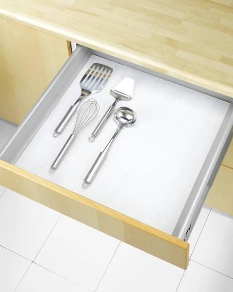Wenko Biela protišmyková podložka do zásuvky Wenko Anti Slip, 150x50 cm