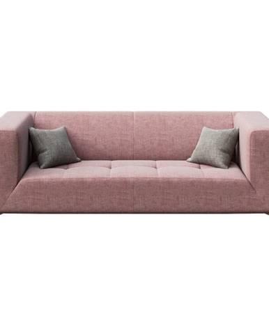 Ružová pohovka MESONICA Toro, 217 cm