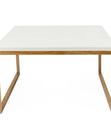 Biely konferenčný stolík Woodman Cubis