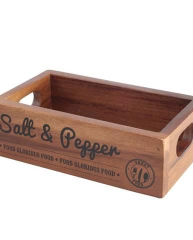 Box na korenie z akáciového dreva T&GWoodware Inacacia