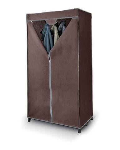 Hnedá šatníková skriňa Domopak Living Closet