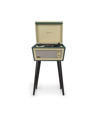 Zelený gramofón na nohách Crosley Sterling Green