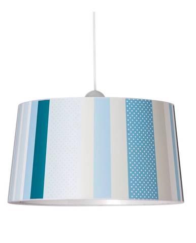 Modré závesné svietidlo SULION Lines