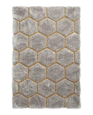 Sivý koberec Think Rugs Noble House, 120×170cm