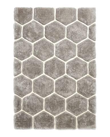 Sivý koberec Think Rugs Noble House, 120x170cm