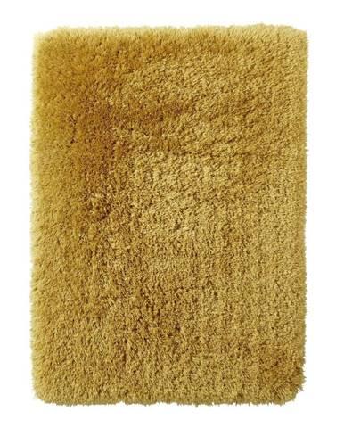 Žltý ručne tuftovaný koberec Think Rugs Polar PL Yellow, 80×150 cm
