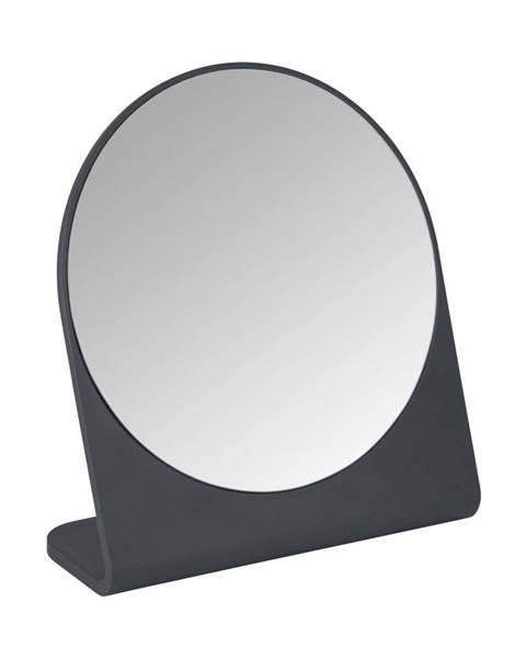 Wenko Antracitovosivé kozmetické zrkadlo Marcon
