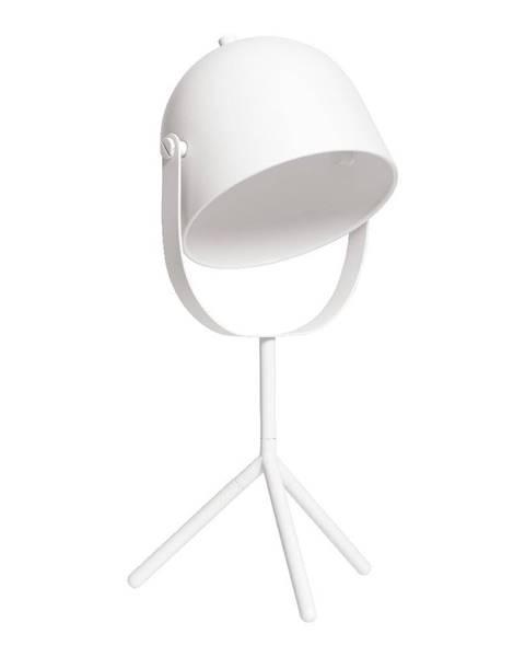 Flexa Biela stolová lampa Flexa Monty
