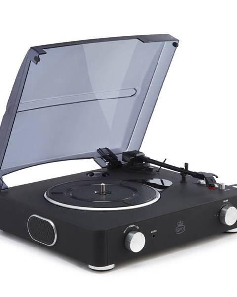 GPO Čierny gramofón GPO Stylo II Black