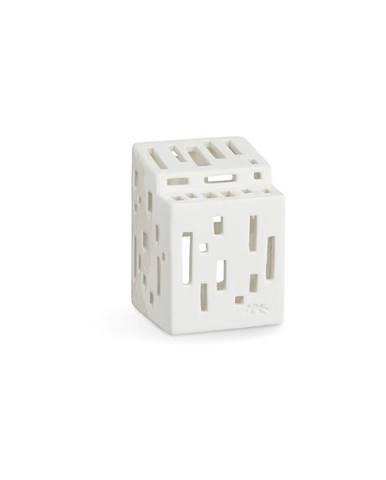 Biely keramický svietnik Kähler Design Urbania LighthoFunctio