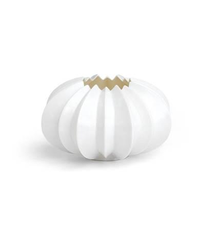 Biely porcelánový svietnik Kähler Design Stella, ⌀ 13,5 cm