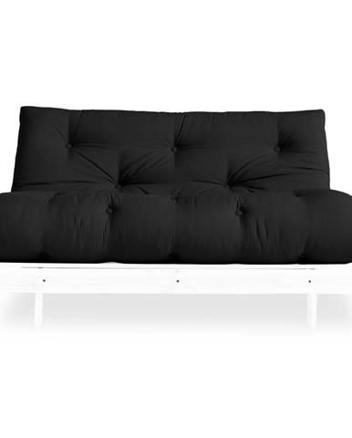 Variabilná pohovka Karup Design Roots White/Dark Grey