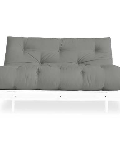 Variabilná pohovka Karup Design Roots White/Grey