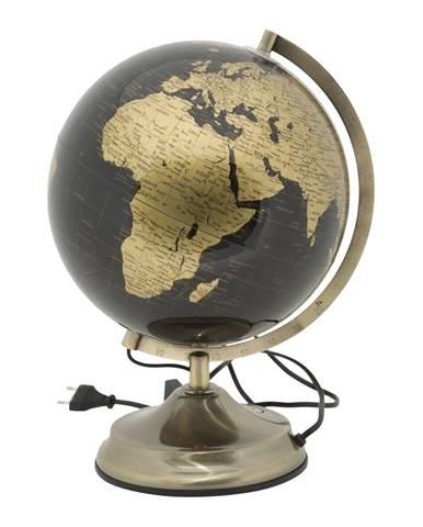Stolová lampa v tvare glóbusu Mauro Ferretti Globe Bronze, ø 25 cm