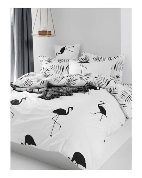 Mijolnir Obliečky na jednolôžko z ranforce bavlny Mijolnir Hope Black, 140 × 200 cm