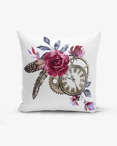 Obliečka na vankúš s prímesou bavlny Minimalist Cushion Covers Cep Saati Bird Tuyu, 45×45 cm