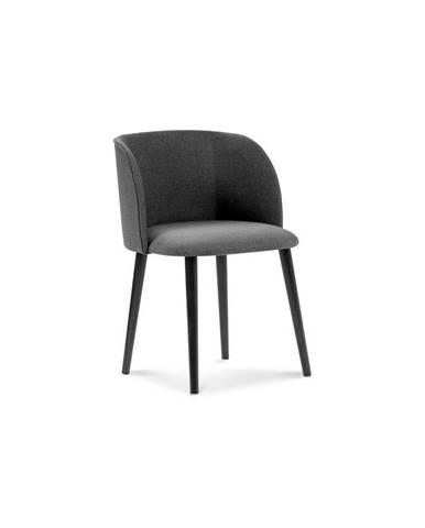 Tmavosivá jedálenská stolička Windsor & Co Sofas Antheia