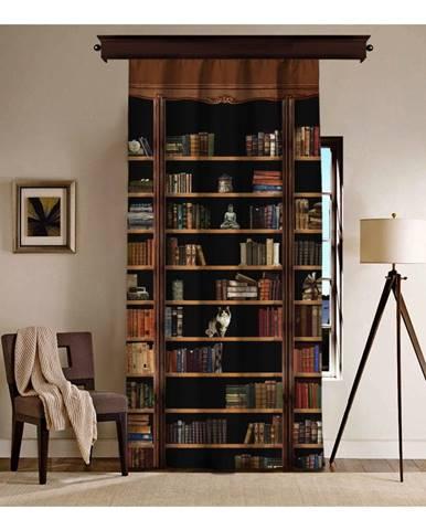 Záves Curtain Library, 140×260 cm