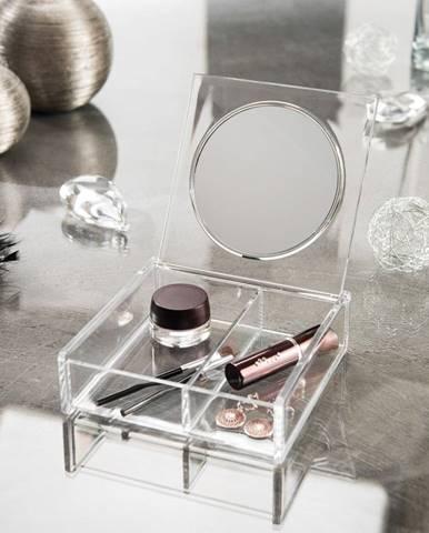 Kozmetický organizér so zrkadlom Compactor Nice