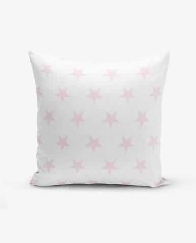 Obliečka na vankúš s prímesou bavlny Minimalist Cushion Covers Powder Colour Star Modern, 45×45 cm