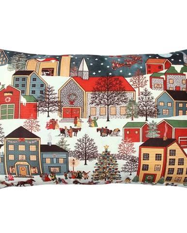 Vankúš City in Snow, 33 × 48 cm