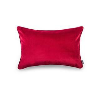 Červená obliečka na vankúš WeLoveBeds Elegant Burgundy, 40 × 60 cm