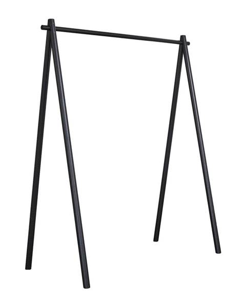 Karup Design Čierny vešiak z borovicového dreva Karup Design Hongi Black
