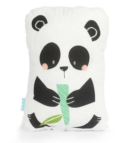 Bavlnený vankúšik Moshi Moshi Panda Gardens, 40×30cm