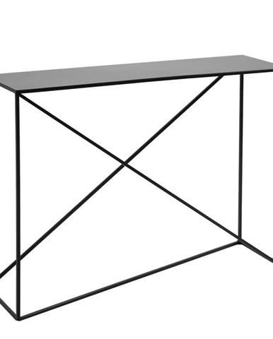 Čierny konzolový stolík Custom Form Memo